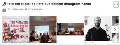 Wie verknüpfe ich meine Facebook Unternehmensseite mit meinem Instagram-Konto in Facebook?