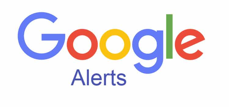 Recherchetool: Google Alerts